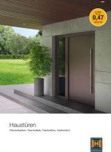 Haustürvordächer Katalog